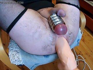 Whore on a fucking machine