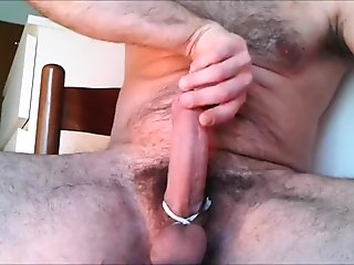 Spit On Penis Whit Final Cumshot.