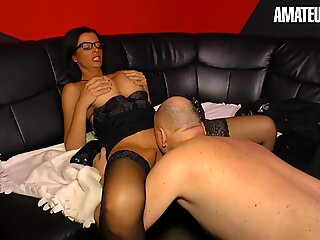 XXX Omas - Big Boobs Mature Secretary Gets Fucked By Brother In Law