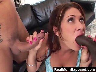 RealMomExposed Nasty Milf Vs 2 Huge Cocks