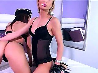Amateur Italian Lesbians in Uniform