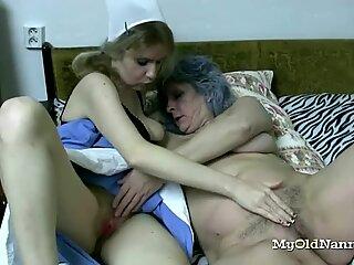 Hot Slut Loves to Go Wild With Grannies
