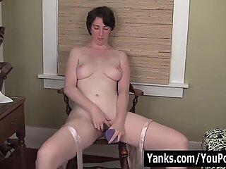 MILF Inara Fucks A Dildo For Orgasm