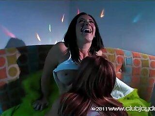 Rampant Jayden Cole strips off her sexy girlfriend