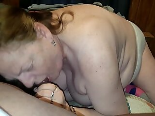 Granny Sucking Dick And Licking Balls