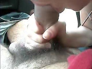 Pompino in auto Italiano and Blowjob in the car italy girlfriend