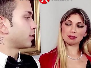 Lisa Torrisi fucked by her butler