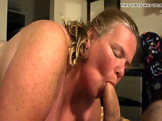 Me being sucked by hot BBW