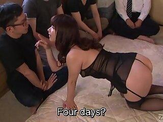 Subtitles Japanese AV star Tsubaki Katou gokkun