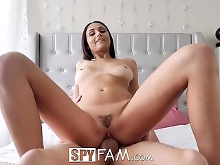 I'll fuck you if you don't tell Mom with Ariana Marie