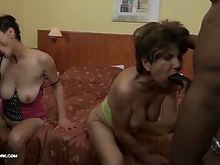 Fucked Interracial Porn with Old Women loving Black meatpipes
