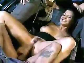 hot Italian milf foursome