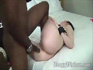 Petite Italian Bubble Butt MILF Vs 10 Inch BBC