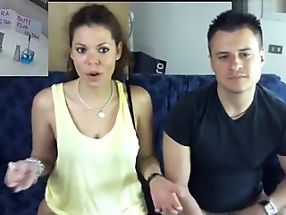 real_italian_couple amateur record on 05/16/15 15:30 from Chaturbate