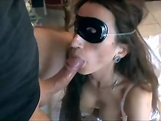 Real sex for an amateur woman in sexy lingerie