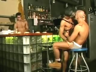 Italian Bar Threesome