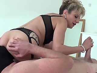 Sexy Italian Chick Gets Nailed By Her English Tutor
