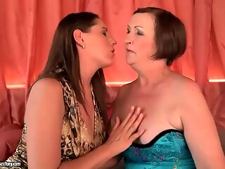 Naughty Grannies and Young Brunettes