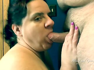 thickest Facial Ever - Missy Sucks Cock For A meaty load