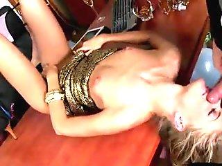 Italian amateur rough anal