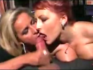 Hot Italian Threesome with Mature