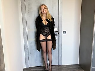 Hooker Screaming in Pain but Still Allow to Fuck Her Ass. Painful Anal.