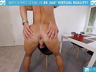 VRB GAY Morning handjob of horny boy