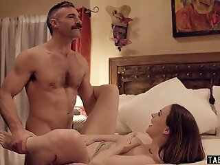 Cheater husband bangs his online domme and wife too