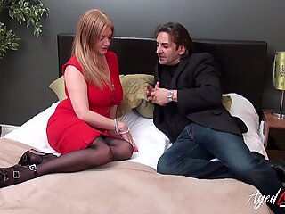 AgedLovE Busty Mature Seduced by Horny Detective