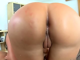 Black Angelika in Tight Italian Pussy