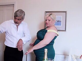 AgedLovE Hardcore Busty Mature Lover Drilling