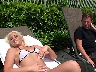 Teen tries smutty adult pleasures with mature knob