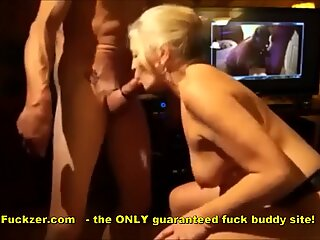knob mad Granny deepthroats Like Hoover