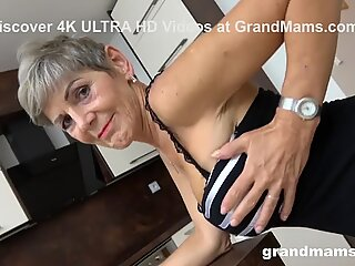 Grandma Just Got Facialized by Horny Toy Boy