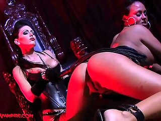 superstar Vampires girl-on-girl Domination Whipping Heel Worship