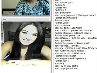 Great italian tits on chatroulette