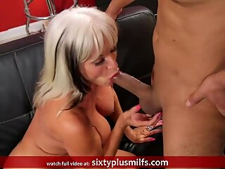 Sally gets her old pussy fucked hard