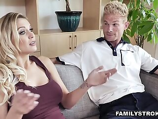 Stepma Kenzie Taylor gives offer you can't refuseReport this video