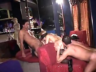 Italian Amateur Orgy in a swinger club