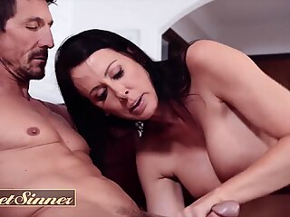 SweetSinner - dilf cheats on his wife with big tit milf