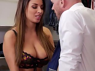 Model Mom Loves Crazy Orgasm By Stepson