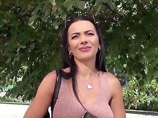 Lesbian italian sex in the pornbus segment