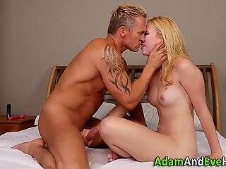 Teen fucked and jizzed