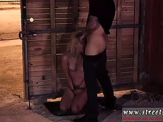 Overpowered bondage and slave girl eats ass Poor Goldie.