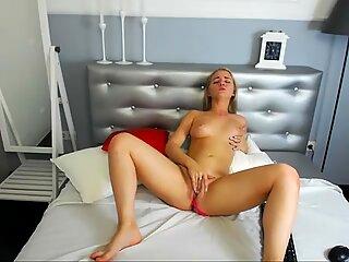 Crazy Hot Teen Blonde Masturbating - Stunning sis Fisting No 1 HD