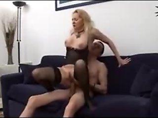 Horny Italian Blonde MILF
