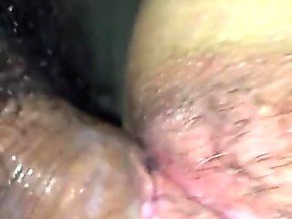 La figa della mia ragazza dopo una grande scopata