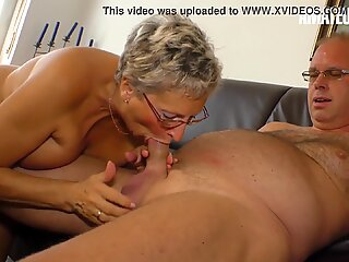 AMATEUR EURO - My Horny Neighbor Just Had Sex With Grandma'_ Erna