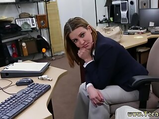 Nylon cumshot and club toilet blowjob first time Foxy Business Lady Gets Fucked! - Foxy Lady