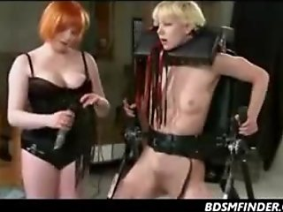 Lesbian Spanked Until She Squirts